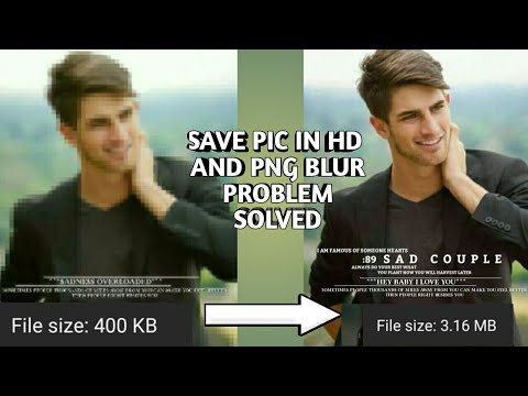 Png blur problem and Save pic in hd || Android || Rahul Creations