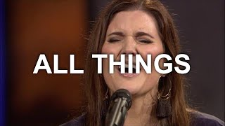 David & Nicole Binion - All Things (Official Live Video)