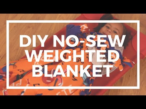 DIY No-Sew Weighted Blanket | Kaplan Early Learning Company