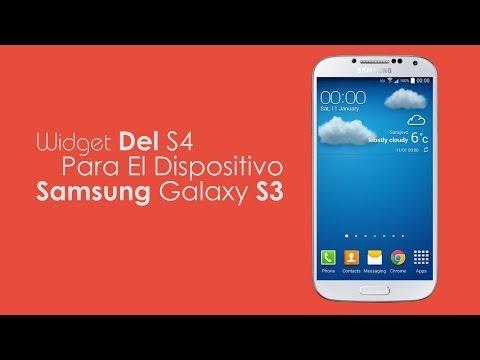 Instalar Widget Del Clima S4 En Samsung Galaxy S3