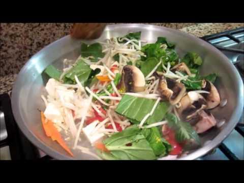 Ten Veggies Dish (Chap Chae)