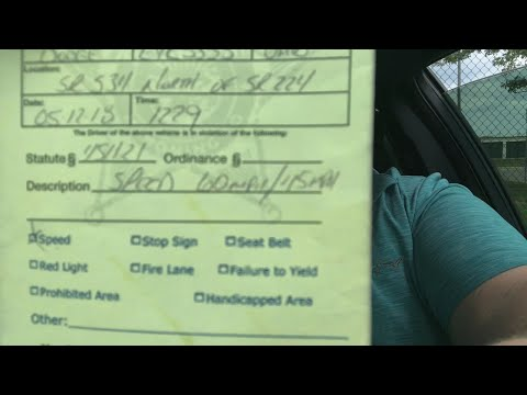 How to get out of a speeding ticket!