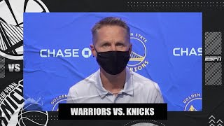 Steve Kerr: Officials admit Draymond Green's ejection for yelling at James Wiseman was a mistake