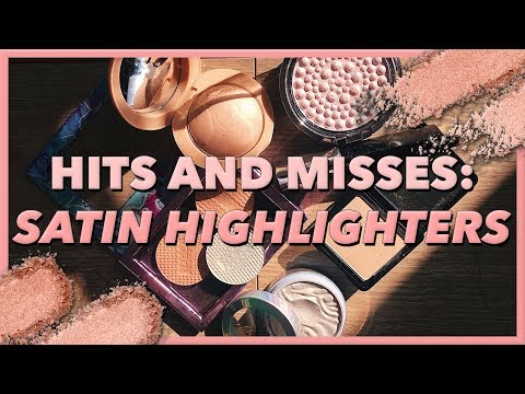 LOVE IT/HATE IT: Satin Finish Highlighters of the Moment | Mariah Leonard