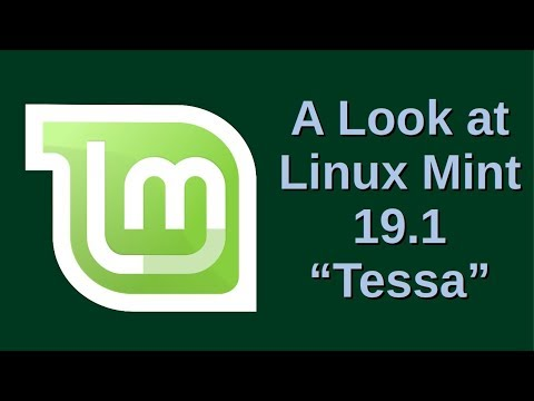 A Look at Linux Mint 19.1