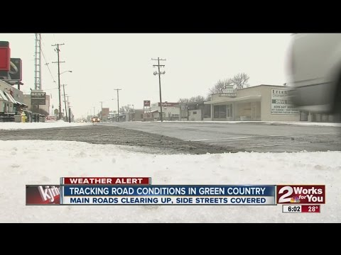 How are the roads? Updated road conditions throughout the Tulsa metro, Green Country