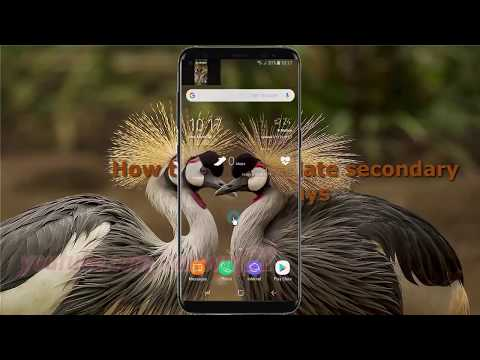 Android Nougat : How to Set Simulate secondary displays in Samsung Galaxy S8 or S8+
