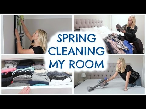 SPRING CLEANING ROUTINE: BEDROOM  |  DEEP CLEAN BEDROOM