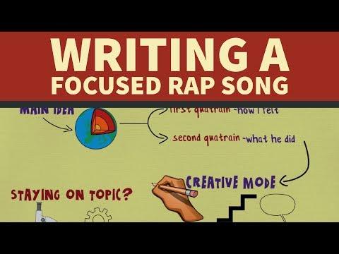 How to Write Focused Rap Songs