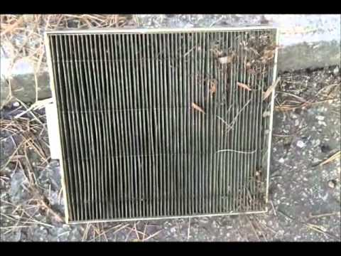 How to change cabin air filter 1998 Honda CRV