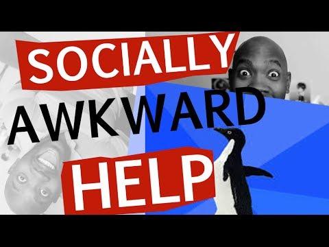 5 AWKWARD TIPS for Socially Awkward People (HELP)