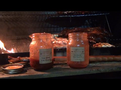 Cooking Sow Ribs and Catfish with El Rabbit BBQ Sauce