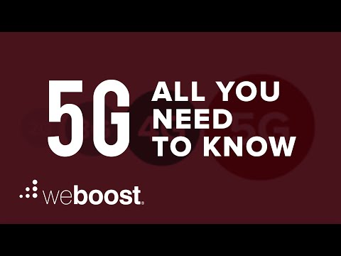 What Is 5G? | weBoost