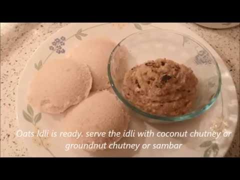 Oats Idli Recipe / Oats Idli Recipe in Telugu