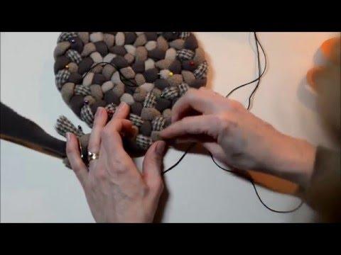 Beginning Rug Braiding: Lacing Increases in Circles
