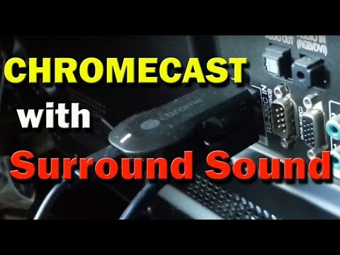 Surround Sound With Chromecast