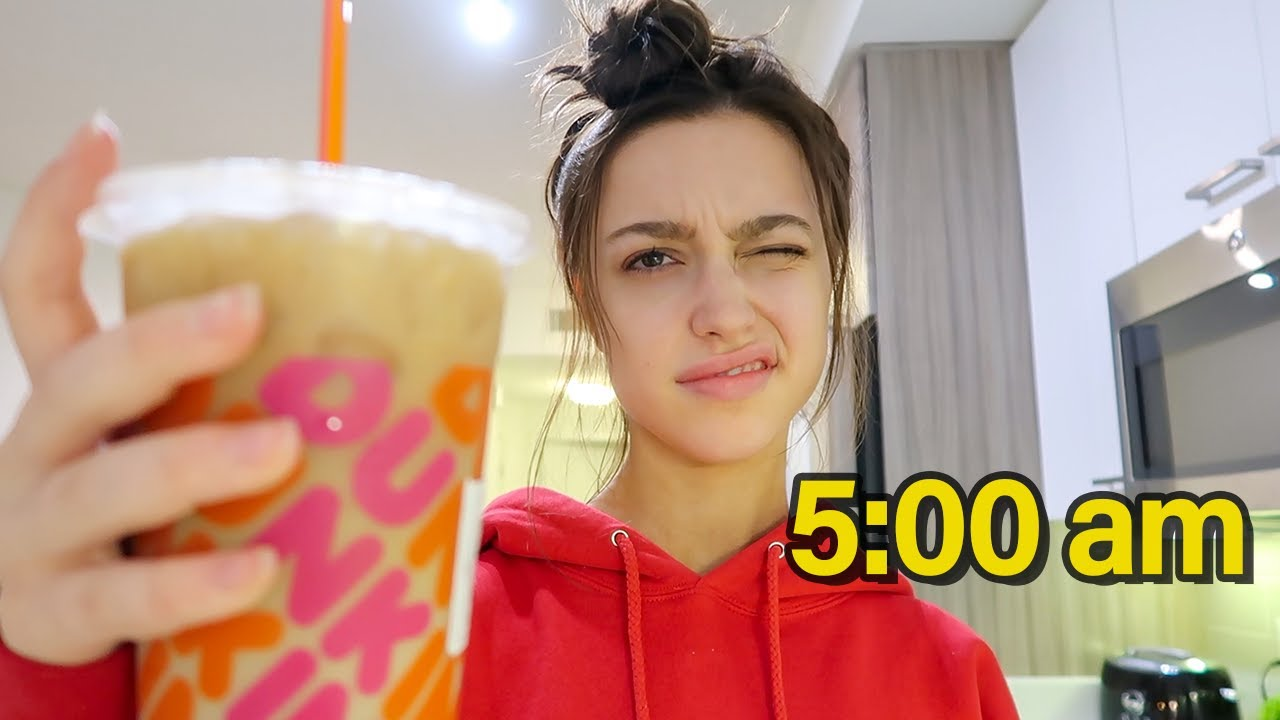 waking up at 5am every day for a week...