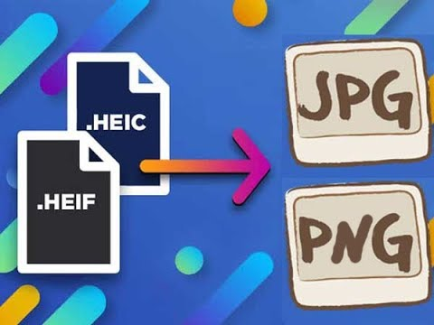 Convert HEIC Files to JPEG/PNG Files (FREE HEIC Converter)