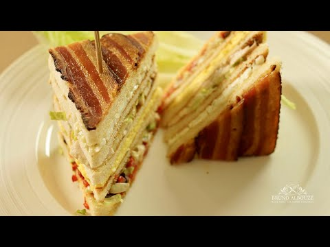 Club Sandwich – Bruno Albouze – THE REAL DEAL
