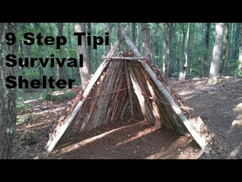 DIY- Tipi Survival Shelter