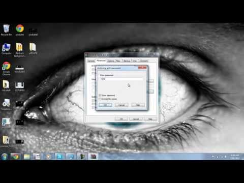 How to Put a Password On a folder!(Windows 7)