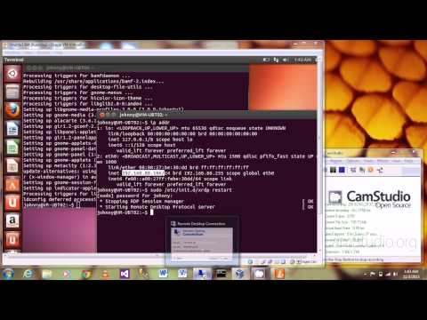 How To Setup Ubuntu Remote Desktop XRDP Server for Windows Client