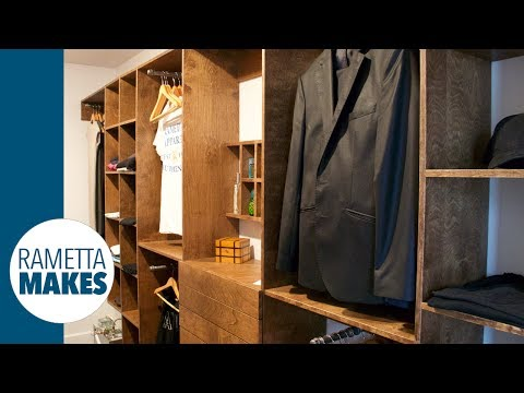 How to Build a Custom Walk-In Closet // DIY - Part 1