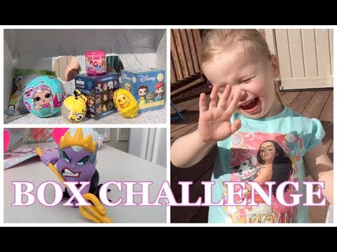 WHAT'S IN THE BOX CHALLENGE with TOY SURPRISES! Disney Princess, LOL Surprise Dolls