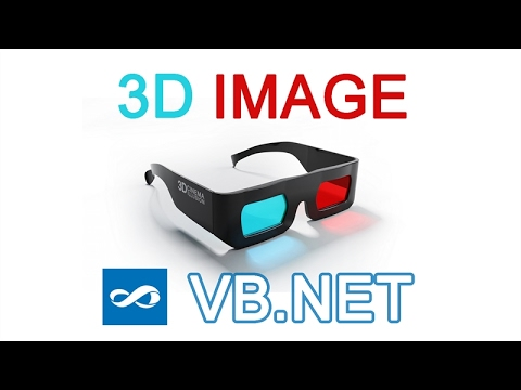 VB.NET - How to make 3D image Tutorial (Visual Basic 2010)
