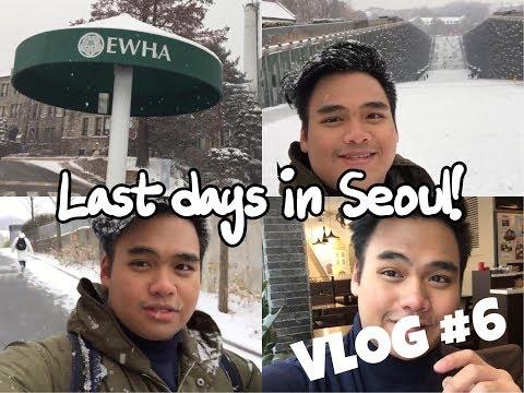Vlog #6: Last days in Seoul (EWHA, Sinchon, Myeongdong)
