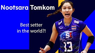 """""""Nootsara Tomkom is the BEST Setter in World Volleyball"""" says Carli Lloyd"""