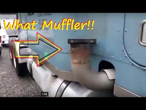 Clogged Mufflers Caterpillar c-15