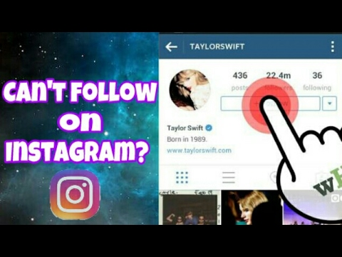 Can't Follow people on Instagram?Try this!
