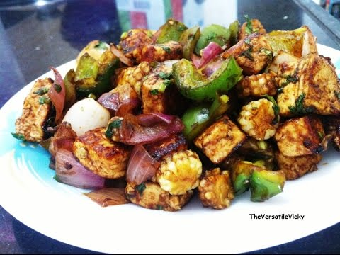 Paneer and Baby Corn Stir Fry recipe  Easy veg starter with cottage cheese