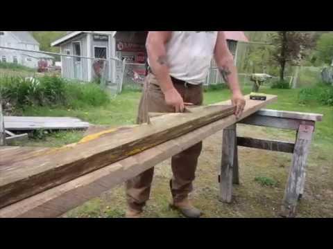 Remaking them broken steps in the back yard