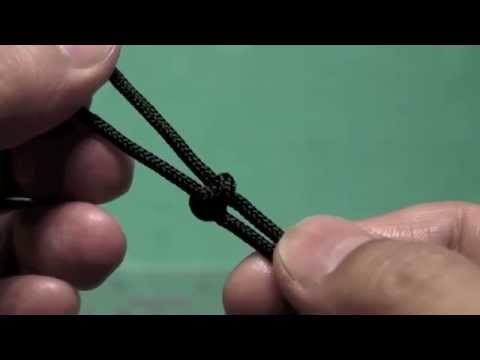 DIY tips : How to tie the simple snake knots