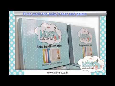 Nino-S Baby Foot & HandPrint Kit