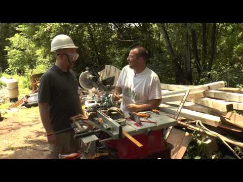 Season 1, Episode 37: Pallet Bookshelf And Neighbor Jim's Powertool Quiz EPISODE 1