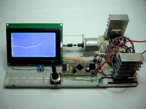 PIC PI motor speed controller