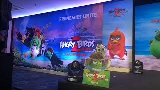 Press conference of Angry Birds Movie 2