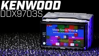 Kenwood DDX9703S Bluetooth Double DIN - Apple Carplay and Android Auto