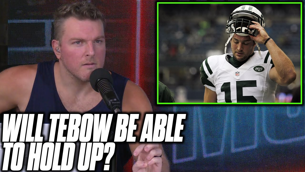 Former Patriot Tells Pat McAfee Tim Tebow Won't Hold Up As NFL Tight End