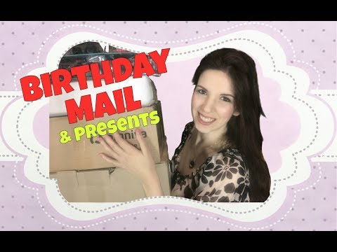~*~ BIRTHDAY PRESENTS HAUL ~*~ perfect doll presents for the doll collector!  :-p