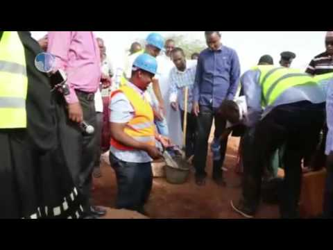Mandera county constructs accident and emergency center to improve health care services.
