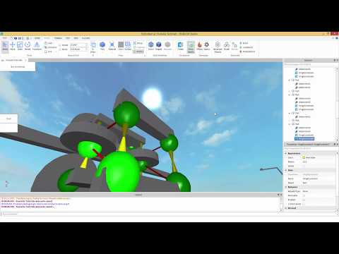 How to make a Roller Coaster on ROBLOX [PART 1] - Setting wheels up