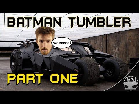 Electric Batman Tumbler Part 1 - The Concept