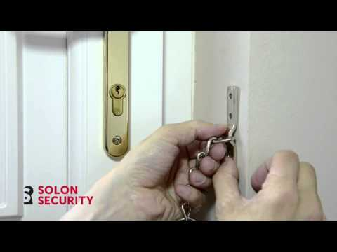 Police Approved Defender Door Chain for PVCu Doors Installation Guide
