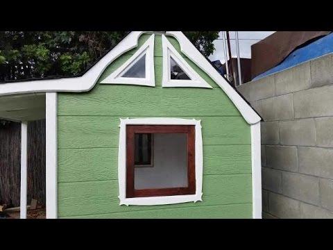 How I made windows for the playhouse