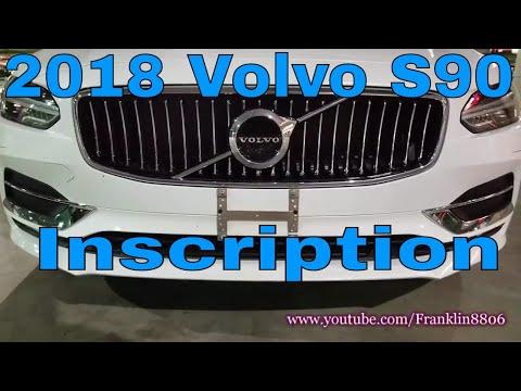 Short Look: 2018 Volvo S90 Inscription Start-up