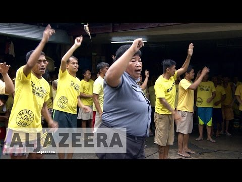 Philippine prisoners find sense of accomplishment in dance